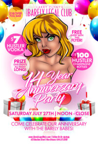 14 Year Anniversary Party