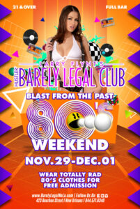 Blast form the Past 80's Weekend