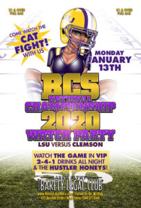 BCS National Championship 2020 Watch Party