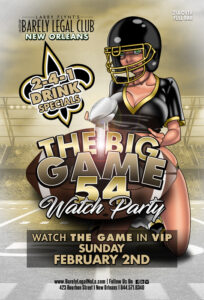 The Big Game 54 Watch Party